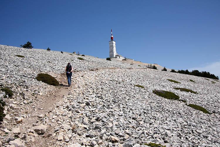 La montée vers le sommet